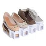 Ficha técnica e caractérísticas do produto Organizadores de Sapatos Branco - Kit 20 Peças
