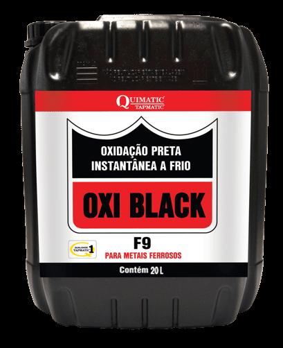 Ficha técnica e caractérísticas do produto Oxi Black F-9 - 20 Litros - Tapmatic