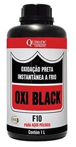 Ficha técnica e caractérísticas do produto Oxi Black F10 Oxidação Preta Instantânea a Frio para Aços Polidos 1L-QUIMATIC-CB1