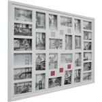 Painel de Fotos Bee Colection Rue Bac (74x94x3cm) Branco para 28 Fotos - Kapos