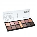 Ficha técnica e caractérísticas do produto Paleta de Sombra Pocket Rose Nude Ruby Rose HB-9945