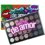 Ficha técnica e caractérísticas do produto Paleta de Sombras Matte de Amor Jasmyne - 28 Cores