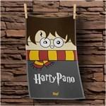 Ficha técnica e caractérísticas do produto Pano de Prato Harry Potter - CINZA