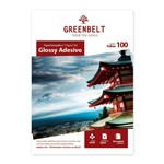 Ficha técnica e caractérísticas do produto Papel A4 Adesivo Glossy Fotográfico 115g Greenbelt 100 Folhas