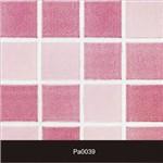 Papel de Parede Auto Adesivo Lavável Pastilha Pa0039 Rosa