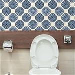 Ficha técnica e caractérísticas do produto Papel de Parede Autocolante Vintage Azul 211852918