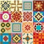 Ficha técnica e caractérísticas do produto Papel de Parede Azulejo #9 (Folha de 60x60cm)