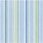 Ficha técnica e caractérísticas do produto Papel de Parede Cuentos Listras Azul e Verde 53x1000cm Muresco