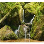 Papel de Parede Paisagem Cachoeira Adesivo Natureza GG189