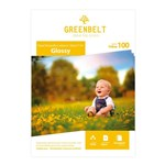 Ficha técnica e caractérísticas do produto Papel Fotográfico Adesivo Glossy 180g Greenbelt A4 100 Folhas