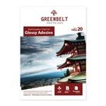 Ficha técnica e caractérísticas do produto Papel Fotográfico Glossy Adesivo A4 115g Greenbelt 20 Folhas