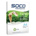 Ficha técnica e caractérísticas do produto Papel Fotográfico Glossy (Brilho) A4 115g - 20 Folhas 1 - Pacote