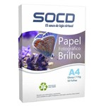 Ficha técnica e caractérísticas do produto Papel Fotográfico Glossy (Brilho) A4 115g - 50 Folhas 1 - Pacote