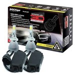Ficha técnica e caractérísticas do produto Par Lâmpada Super Led 9000 Lumens 12V 24V 50W Shocklight Power Led 3D H27 6000K