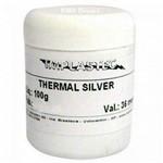 Pasta Térmica com Prata 100g - Thermal Silver - P/ Processador - Implastec
