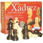 Ficha técnica e caractérísticas do produto Peças de Xadrez em Madeira - Xalingo