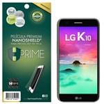 Ficha técnica e caractérísticas do produto Película Premium NanoShield Hprime LG K10 2017 - Hprime Películas