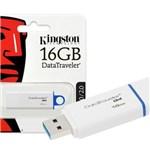 Ficha técnica e caractérísticas do produto Pen Drive Kingston 16gb Datatraveler Usb 3.0 - Dtig4/16gb