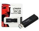 Ficha técnica e caractérísticas do produto Pen Drive Kingston 16GB USB 3.0 Data Traveler DT100G3/16GB