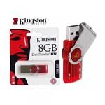 Pen Drive Kingston 8GB USB 3.0 DataTraveler 101 G2 Vermelho