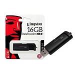 Ficha técnica e caractérísticas do produto Pen Drive Usb 2.0 Kingston Dt104/16gb Datatraveler 104 16gb