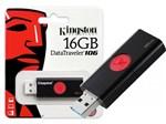 Ficha técnica e caractérísticas do produto Pen Drive USB 3.0 Kingston DT106/16GB Datatraveler 106 16GB