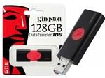 Ficha técnica e caractérísticas do produto Pen Drive Usb 3.0 Kingston Dt106/128gb Datatraveler 106 128gb