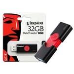 Ficha técnica e caractérísticas do produto Pen Drive USB 3.0 Kingston DT106/32GB Datatraveler 106 32GB