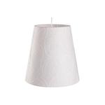 Ficha técnica e caractérísticas do produto Pendente Cônico para 1 Lâmpada Safira Branco 33cm