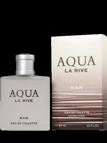 Ficha técnica e caractérísticas do produto Perfume Aqua Man - La Rive - Masculino - Eau de Toilette (90 ML)