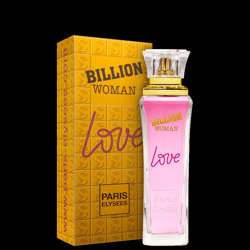 Ficha técnica e caractérísticas do produto Perfume billion Woman Love - Paris Elysees - Feminino - Eau de Toilet... (100 ML)