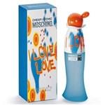 Ficha técnica e caractérísticas do produto Perfume Feminino Moschino Spray I Love Love EDT 100ml - 100ml