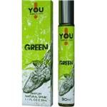 Ficha técnica e caractérísticas do produto Perfume Green Masculino 30 Ml