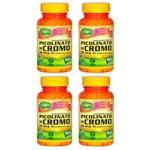 Picolinato de Cromo - 4 Un de 60 Cápsulas - Unilife