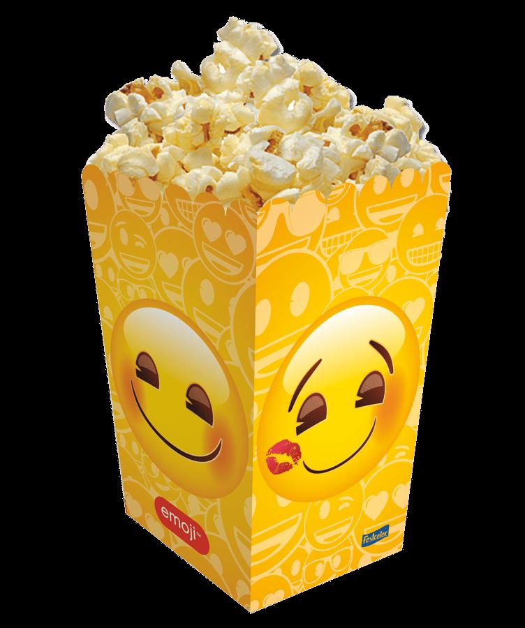 Ficha técnica e caractérísticas do produto Pipoqueira Emoji - 08 Unidades