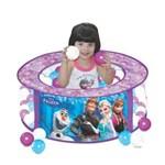 Ficha técnica e caractérísticas do produto Piscina de Bolinhas Disney Frozen com 100 Bolinhas - Lider Brinquedos - Ref 2286