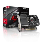 Placa de Video Asrock Radeon Rx 560 2gb Phantom Gaming Ddr5 128bits - 90-ga0400-00uanf