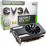 Placa de Video GeForce GTX960 4GB SC DDR5 - EVGA
