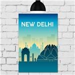 Placa Decorativa MDF Nova Delhi