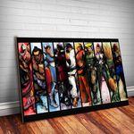 Ficha técnica e caractérísticas do produto Placa Decorativa Street Fighter 10
