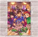Ficha técnica e caractérísticas do produto Placa Decorativa Street Fighter 40