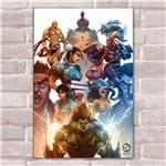 Ficha técnica e caractérísticas do produto Placa Decorativa Street Fighter 27