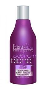 Ficha técnica e caractérísticas do produto Platinum Blond Forever Liss Shampoo Matizador 300ml