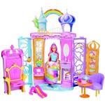 Ficha técnica e caractérísticas do produto Playset e Boneca - Barbie - Dreamtopia - Castelo Arco-íris - Mattel