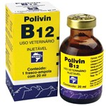 Ficha técnica e caractérísticas do produto Polivin B12 Injetável 20 Ml Bravet