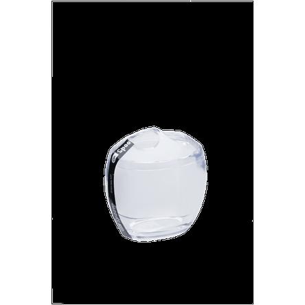 Ficha técnica e caractérísticas do produto Porta-escova Spoom - CR 10,6 X 8,5 X 10,6 Cm Cristal Coza