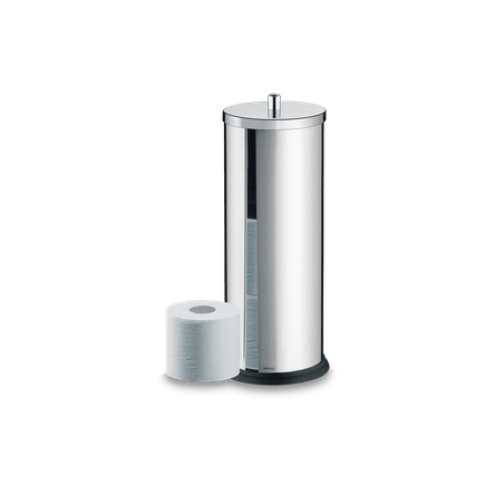 Ficha técnica e caractérísticas do produto Porta Papel Higiênico - Decorline Banheiro Ø 13 X 35 Cm