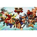 Ficha técnica e caractérísticas do produto Poster Street Fighter 5 #E 30x42cm