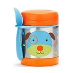 Ficha técnica e caractérísticas do produto Pote Termico Zoo Cachorro Skip Hop Azul