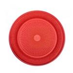 Ficha técnica e caractérísticas do produto Prato Descartável para Bolo Vermelho 15cm C/10 - Trik Trik